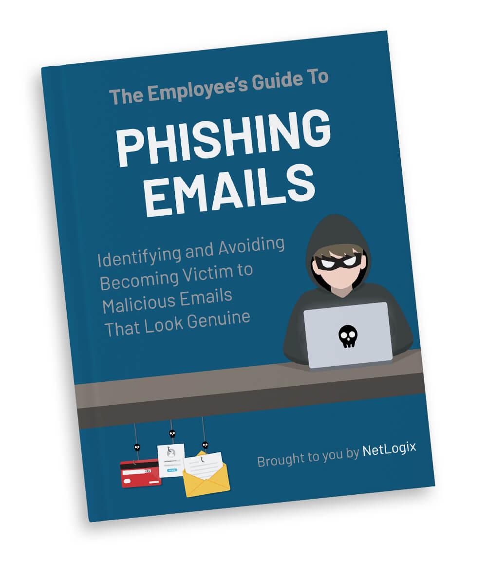 Phising emails-NetLogix-mockup